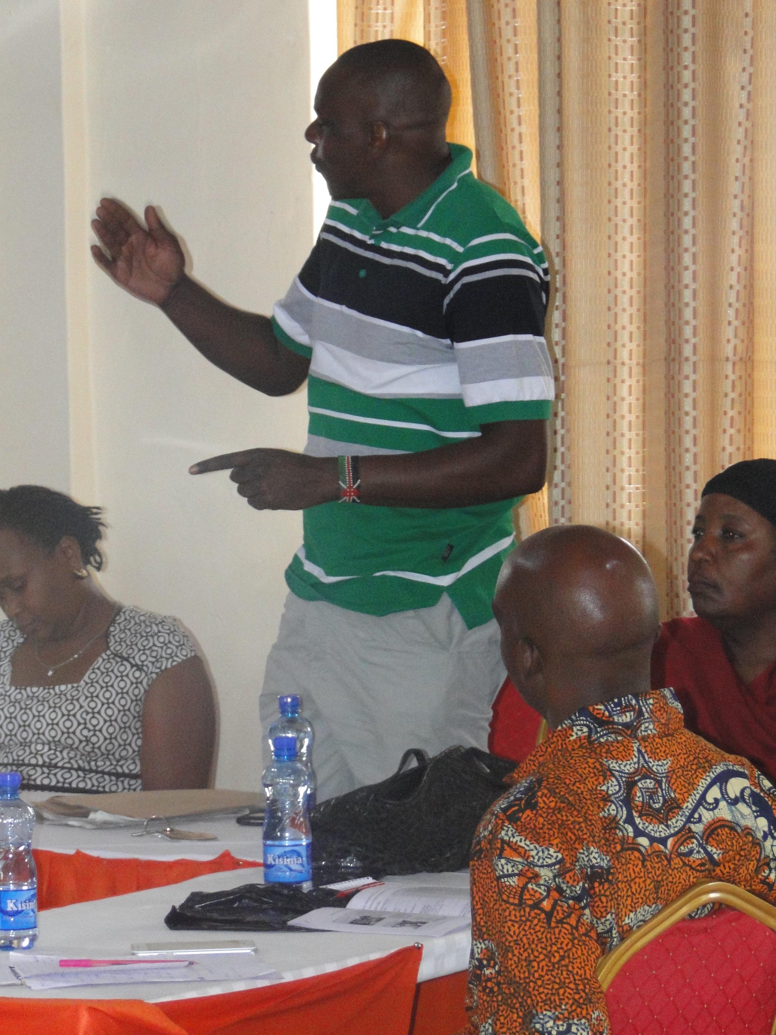 Joseph Muturi, Muungano