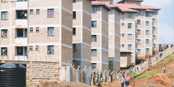 Kibera Slum Upgrading Housing Units. Photo: nairaland.com