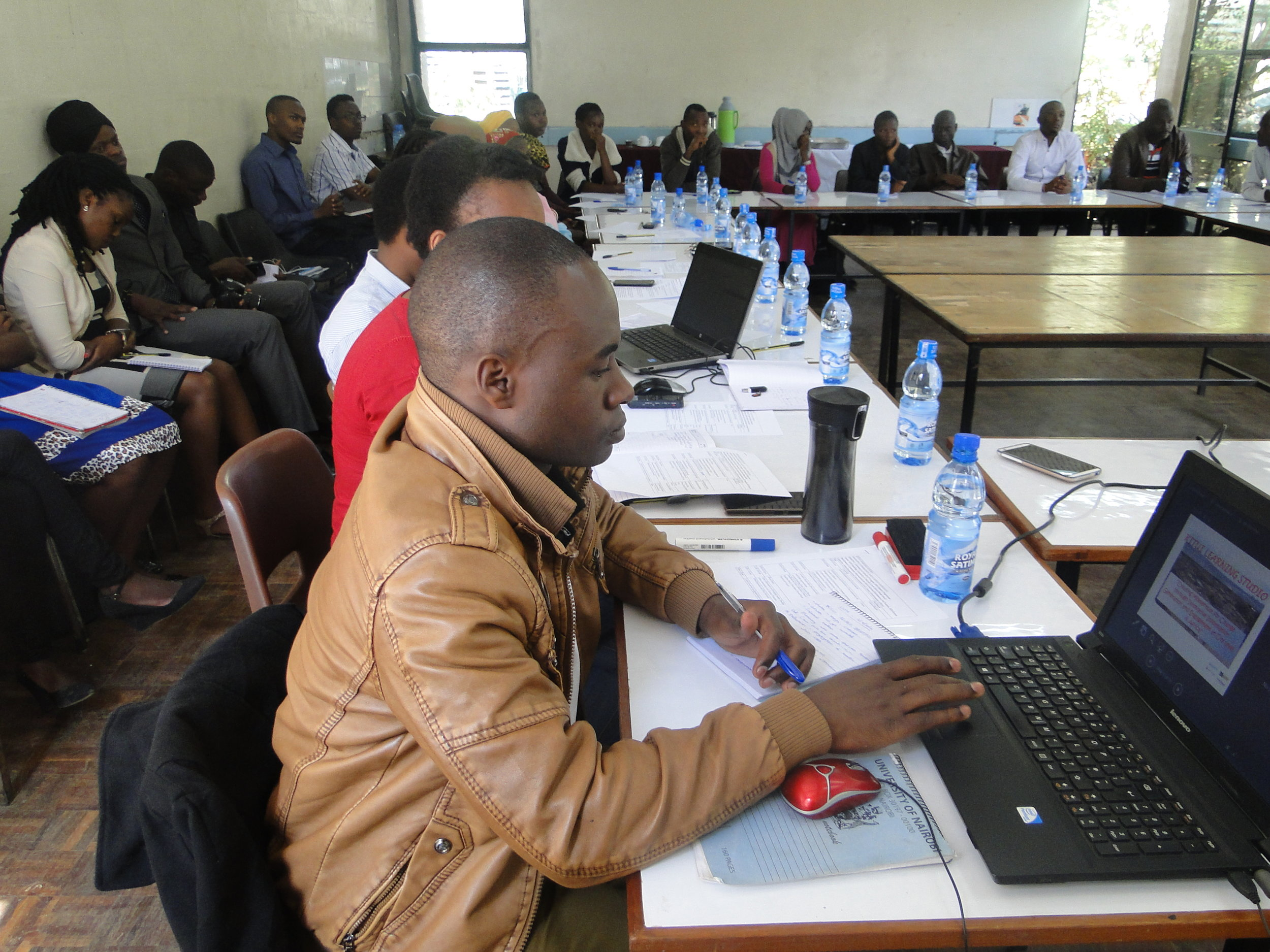 Kitui community workshop held at the University of Nairobi.