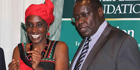 jane weru and James Nyoro