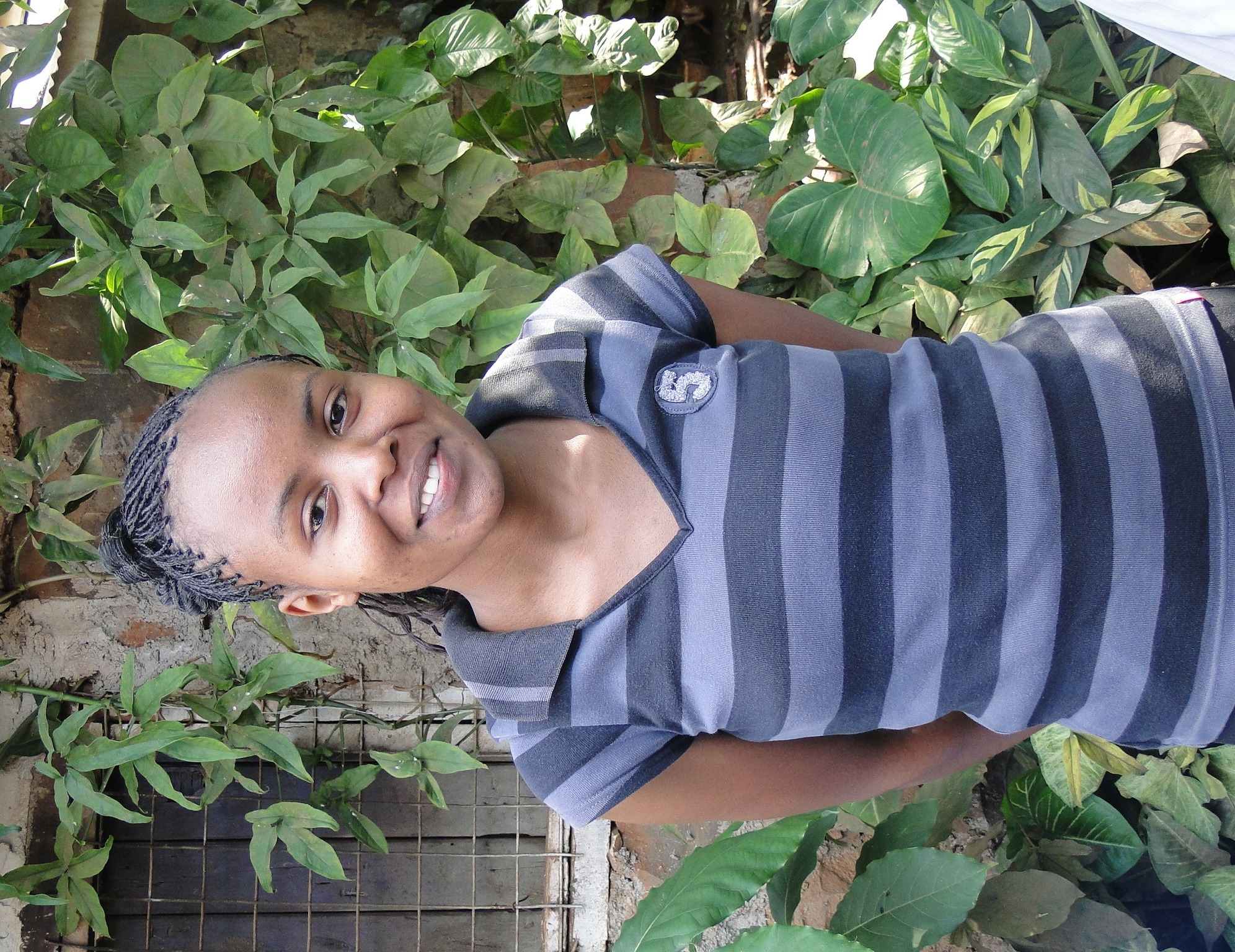Terssia Njeri, 23 years Grand daughter