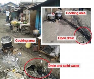 Environmental hazards for vendors in Viwandani, Nairobi (Photos: Grace Githiri)