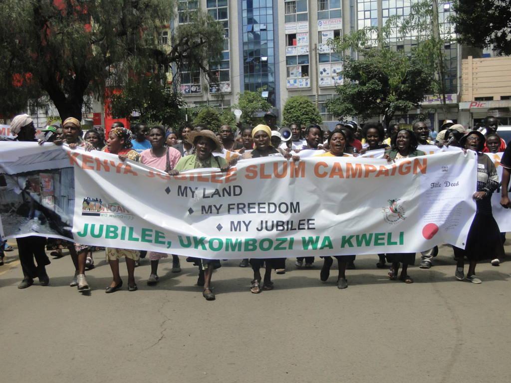 The Jubilee Slum Campaign March