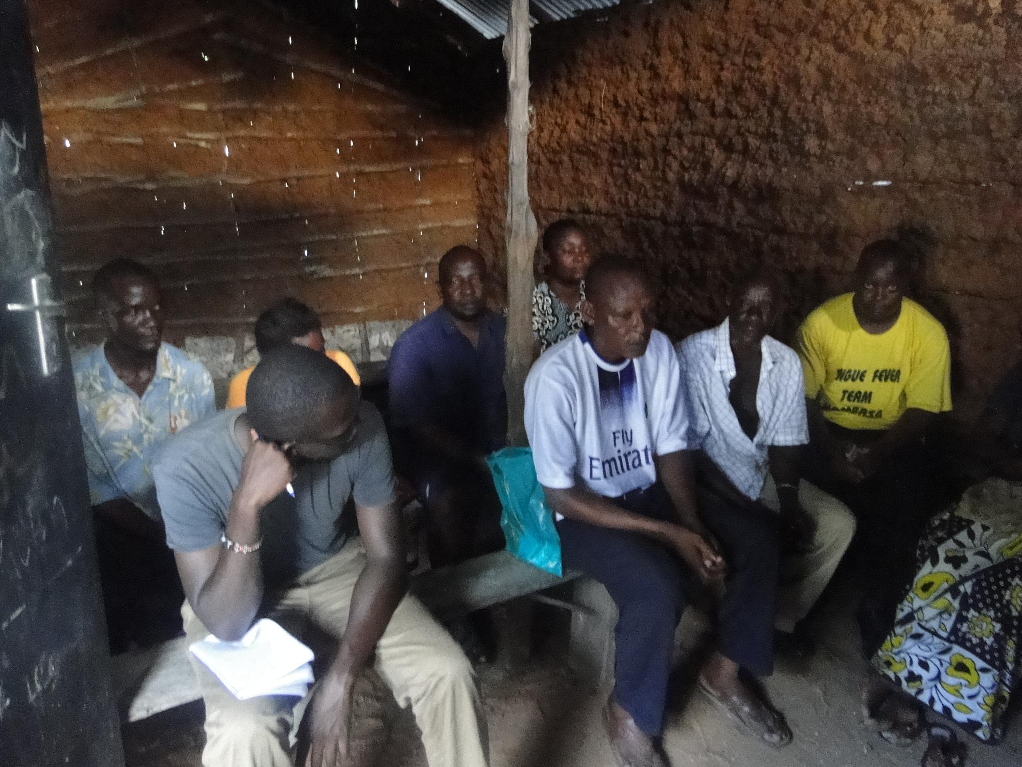 Members of the Badilisha Maisha savings group, in one of their bi weekly meetings.