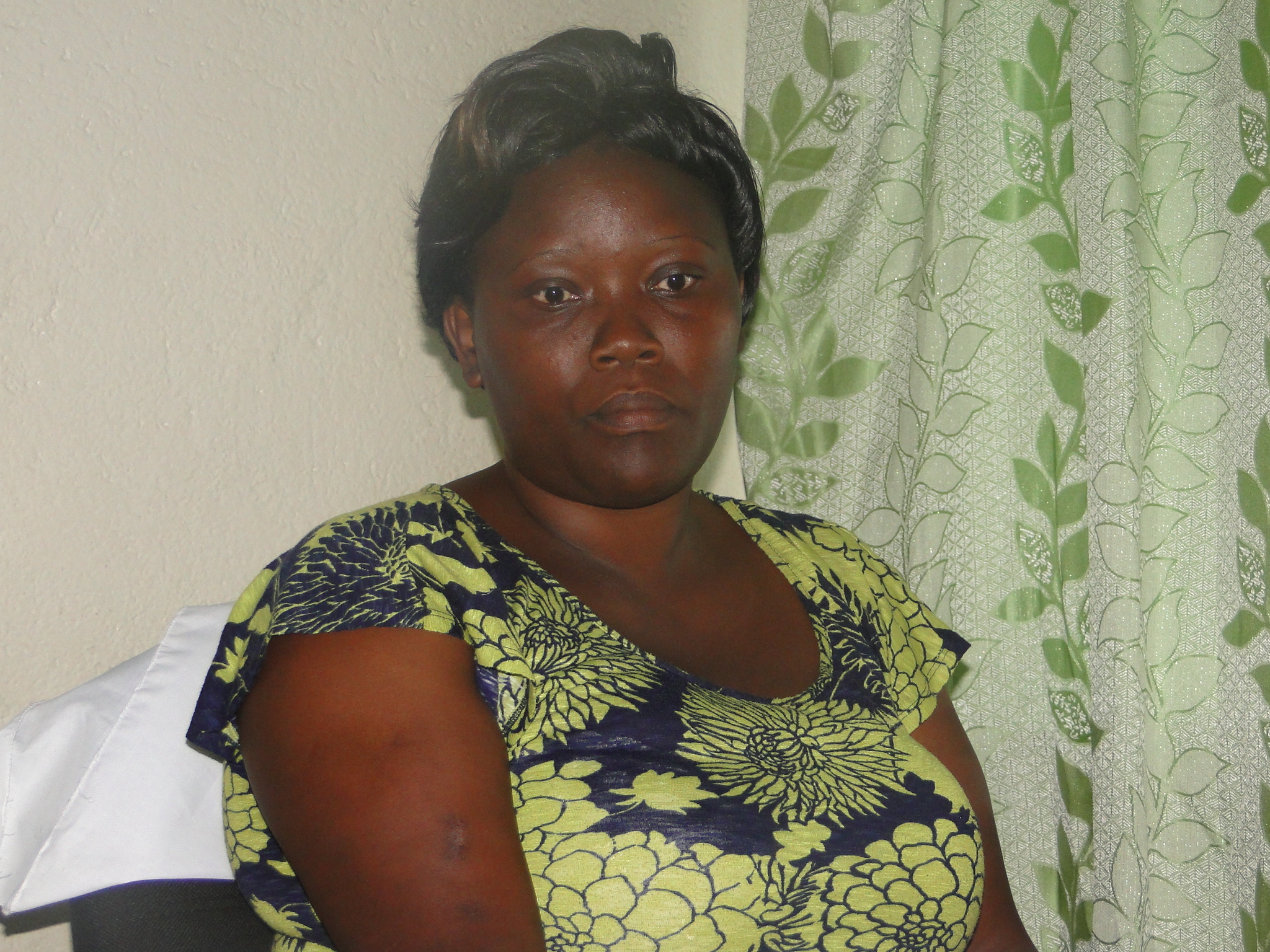 Dorice Moseti, a resident of Mukuru slums and a member of Muungano wa Wanavijiji