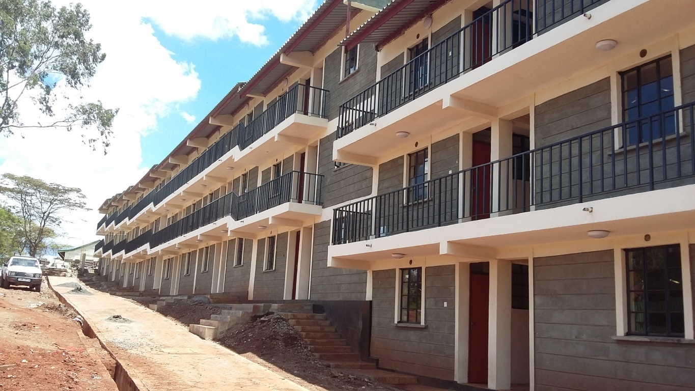 The Standard one bedroom Housing Units built for the Project affected Persons.