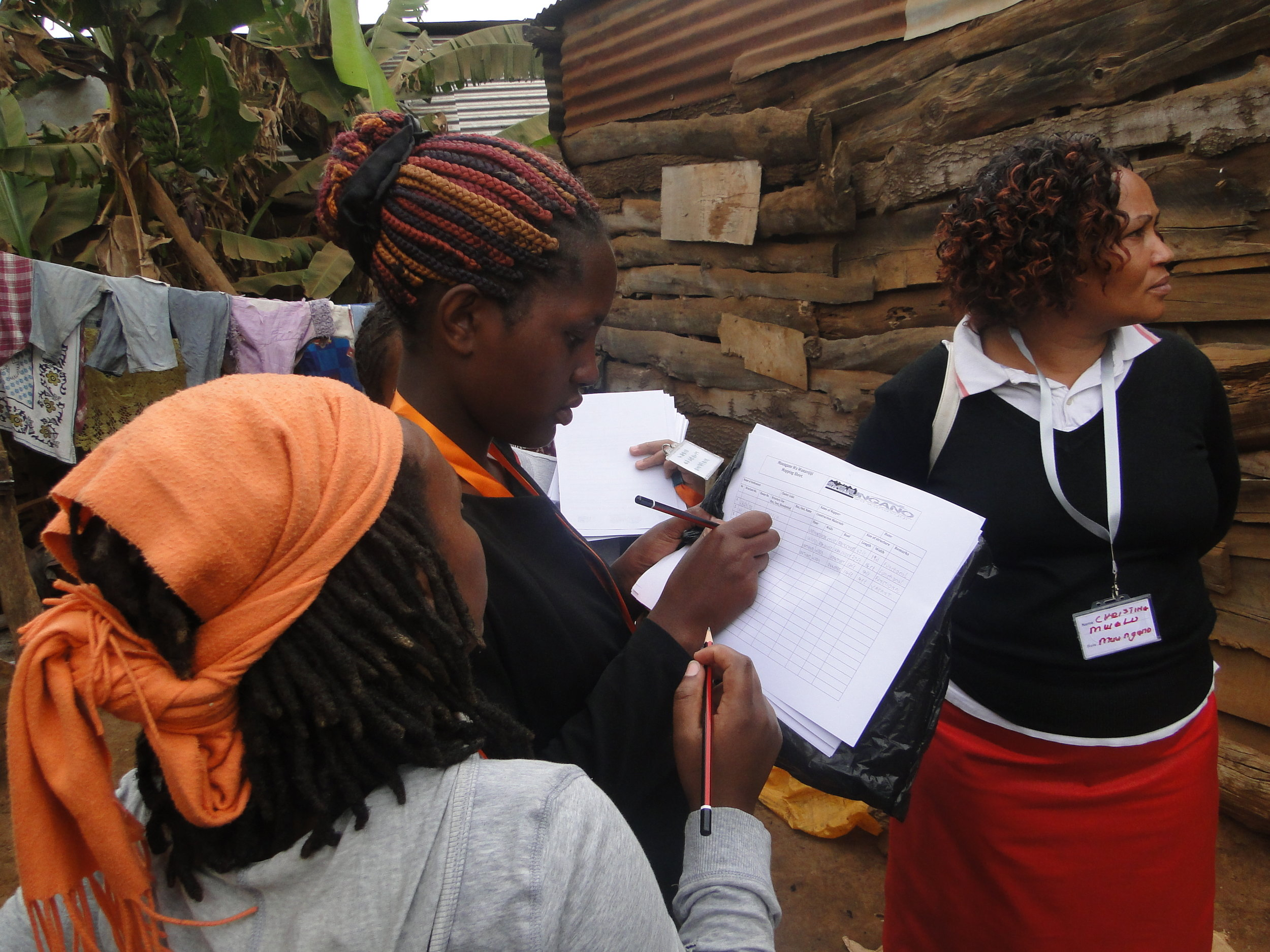 Community data collection|File Photo