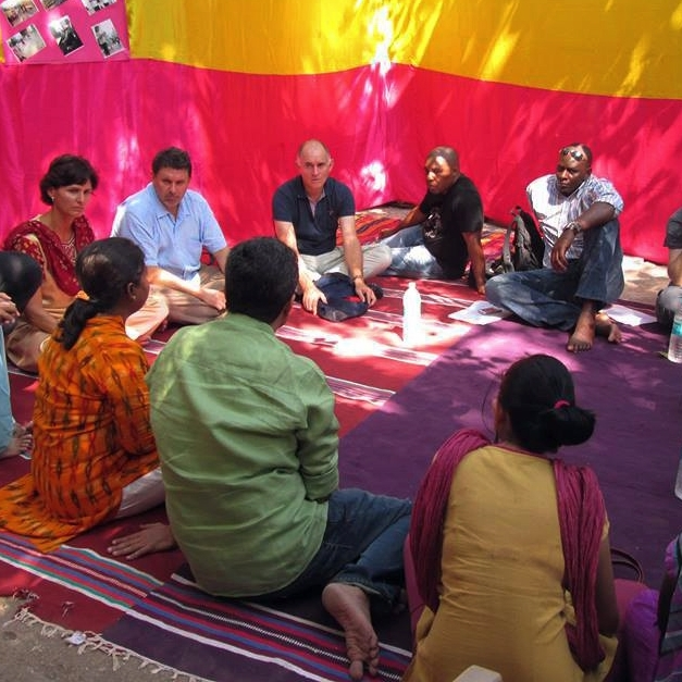 Learning from Indian slum dwellers' federation. Photo: Joseph Muturu