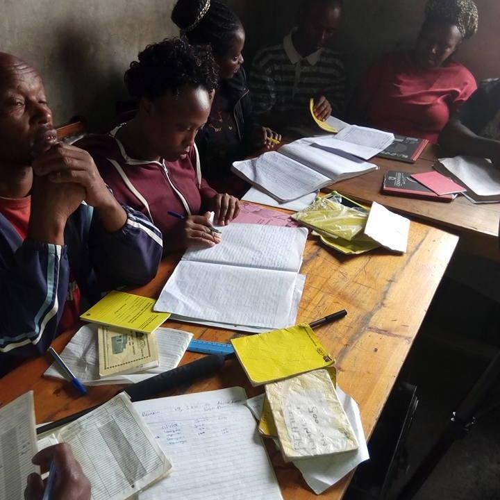 Nakuru West network savings group meeting. Photo: KYC TV