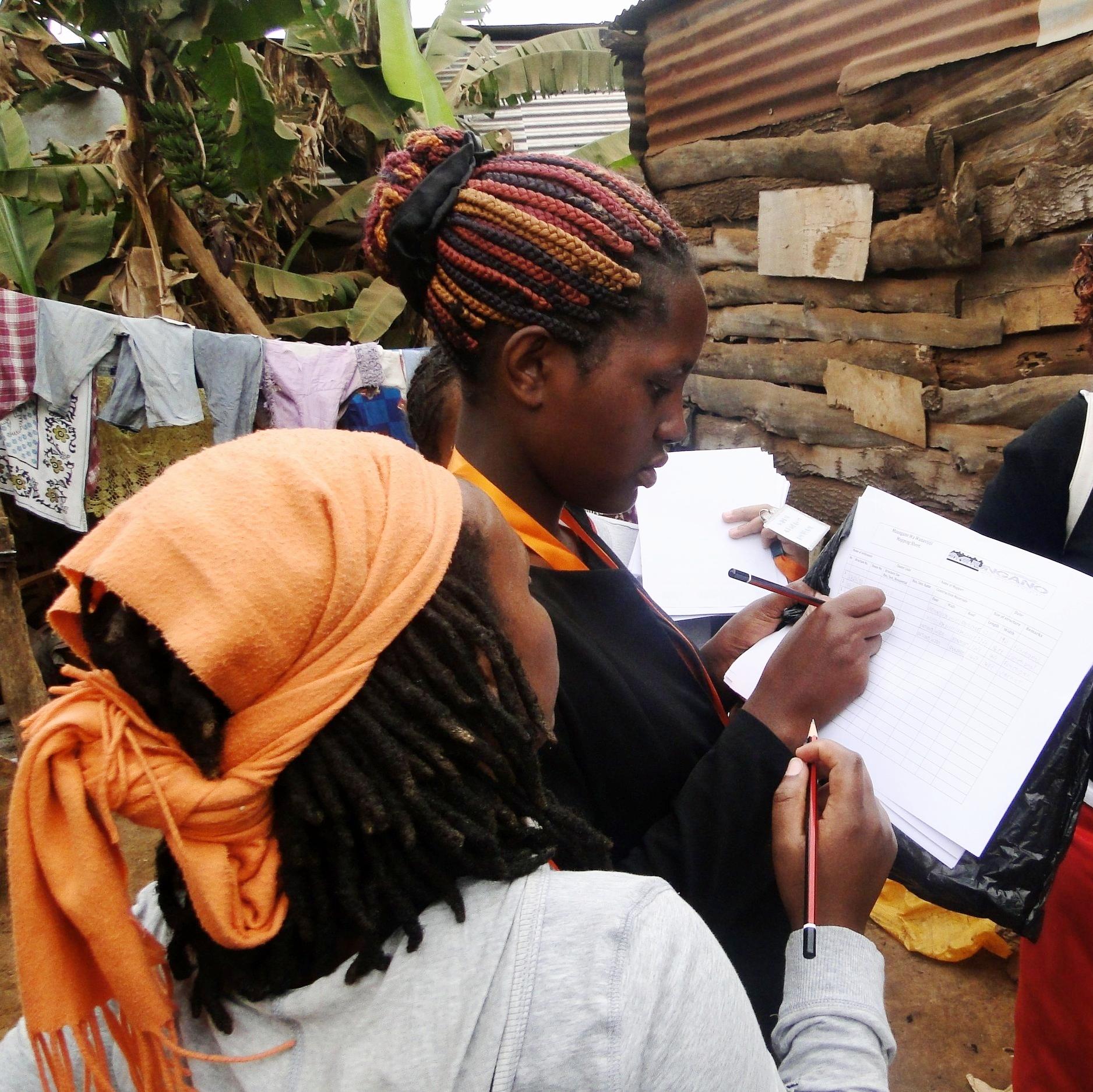 Community data collection, Mombasa. Photo: SDI Kenya