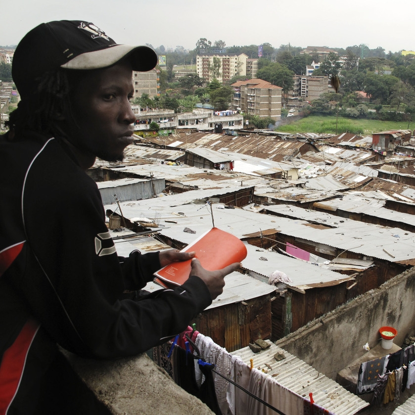 Looking out across part of Mathare valley. Photo: SDI Kenya