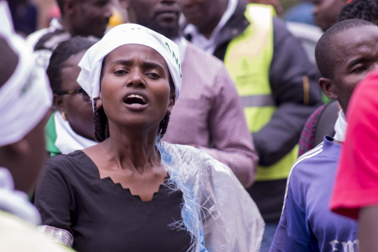 Nicera Wanjiru, of Muungano KCTV