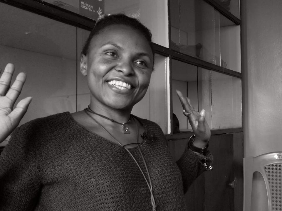 Emmie Erondanga - Civil society partner, Korogocho, Nairobi