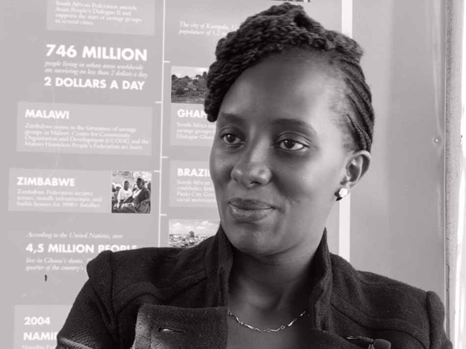 Jane Wairitu - Support professional, SDI Kenya