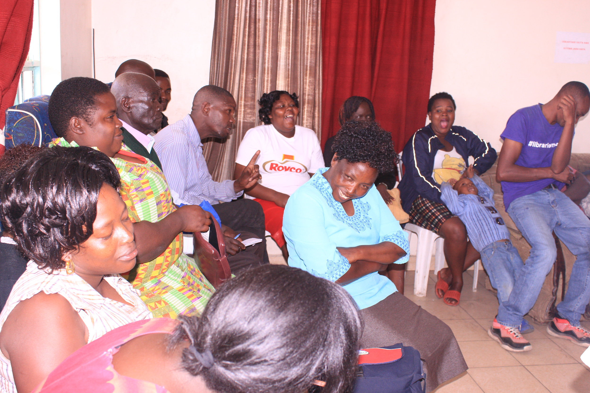 The Health consortium pre-consultation with Viwandani (residents from segments 1, 2, and 3) was held on 8 November 2018