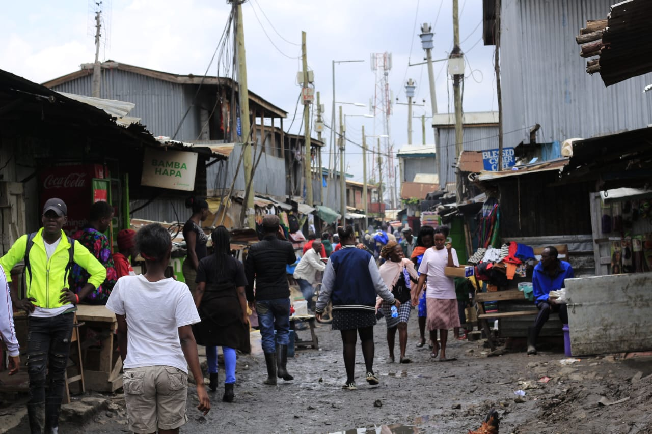 Mukuru informal settlement is the site of the ongoing Mukuru SPA, a precedent-setting planning process that puts slum residents at the centre. Photo: Muungano Know Your City TV.