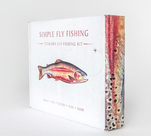 Simple Fly Fishing Tenkara Fly Fishing Kit Packaging