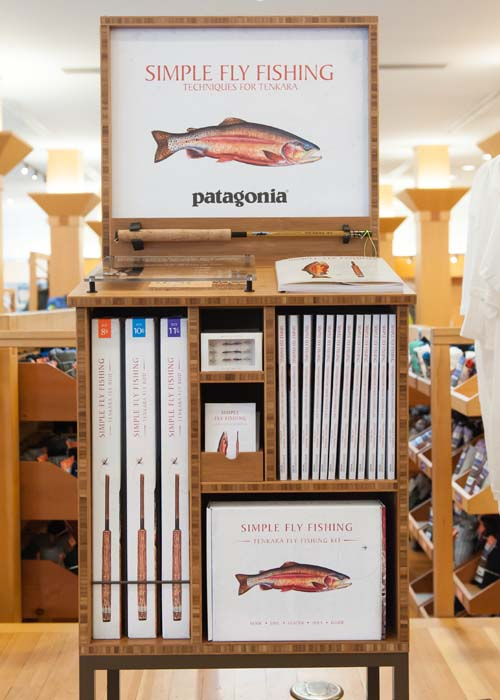 Simple Fly Fishing in store Display