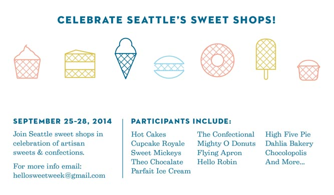 """Sweet Week Dates, """"September 25-28, 2014"""" and participants"""