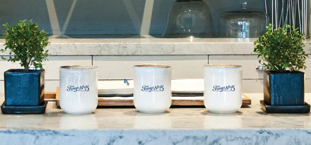 Tiny's No. 5 Cups in Store