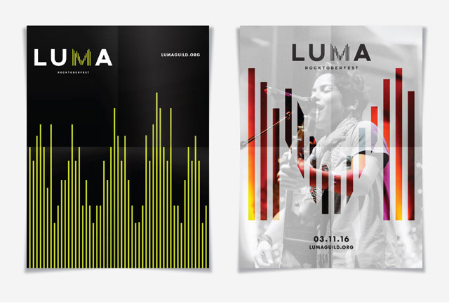 LUMA Benefit Concert Posters