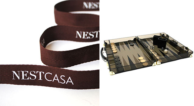 CRP Nest Casa Packaging and Backgammon