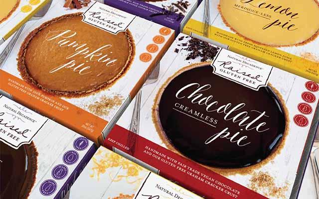 Raised Gluten Free Pie Packaging Boxes Grid