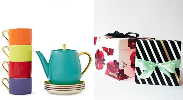 CRP Teavana Holiday Packaging and Tea Set