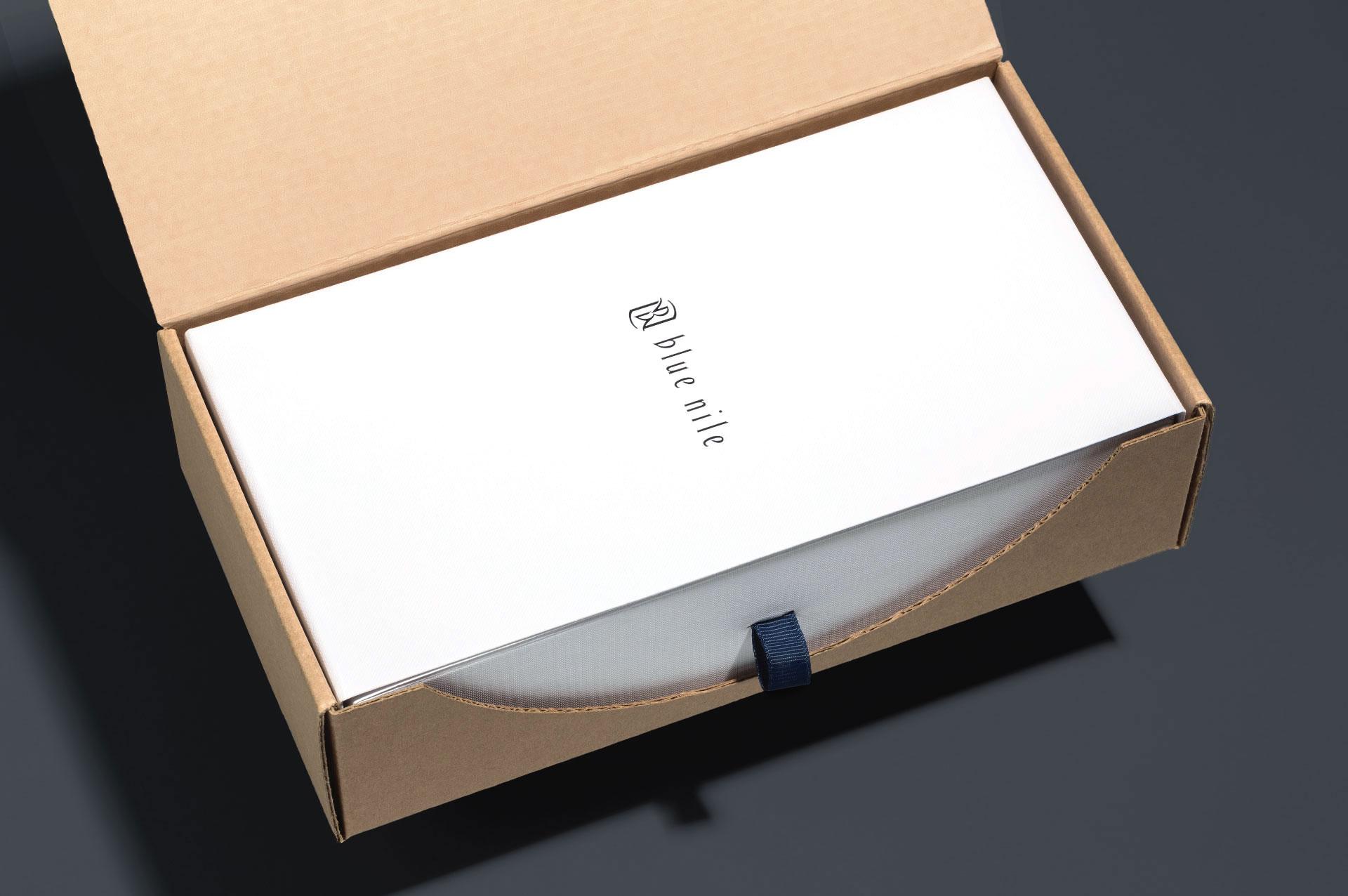 Blue Nile Shipper and Box