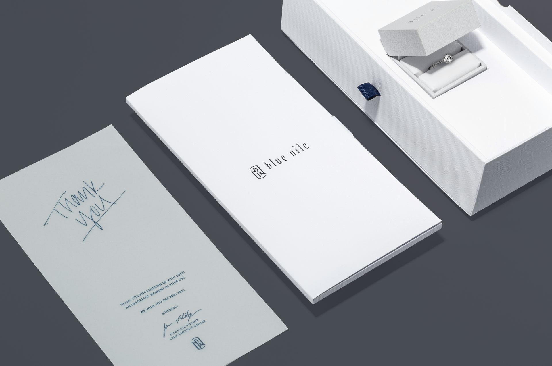 Luxury Packaging Set Blue Nile
