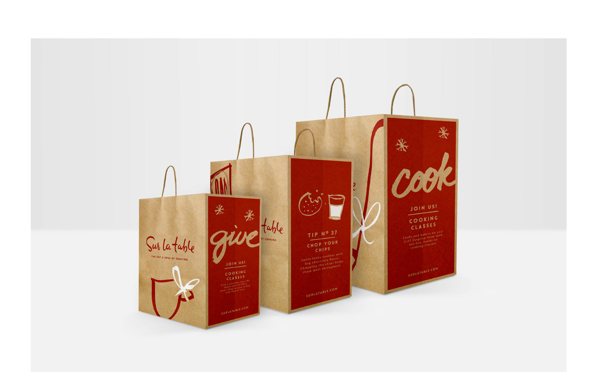 SUR LA TABLE | HOLIDAY PACKAGING DESIGN