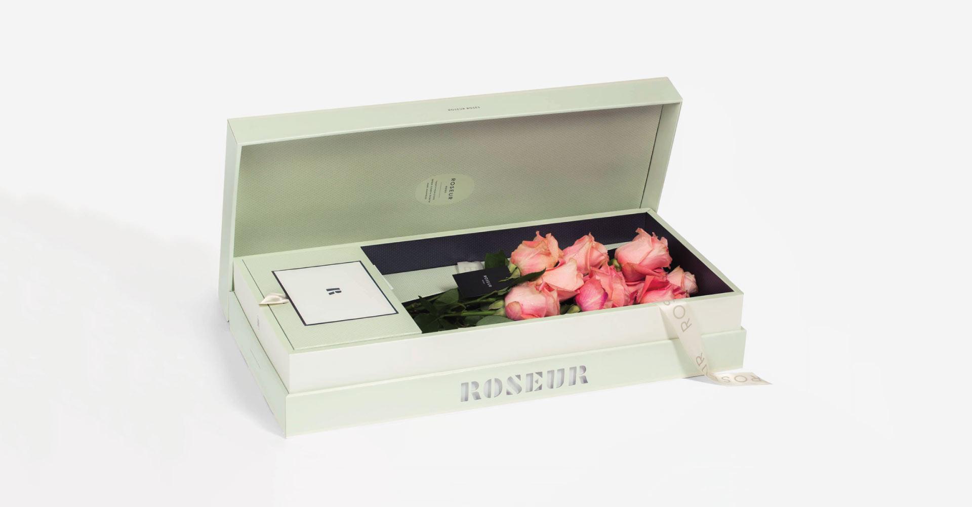 ROSEUR | Luxury Rose Gift Box Program