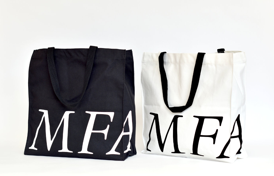 Museum of Fine Arts, Houston   Bags created by Creative Retail Packaging