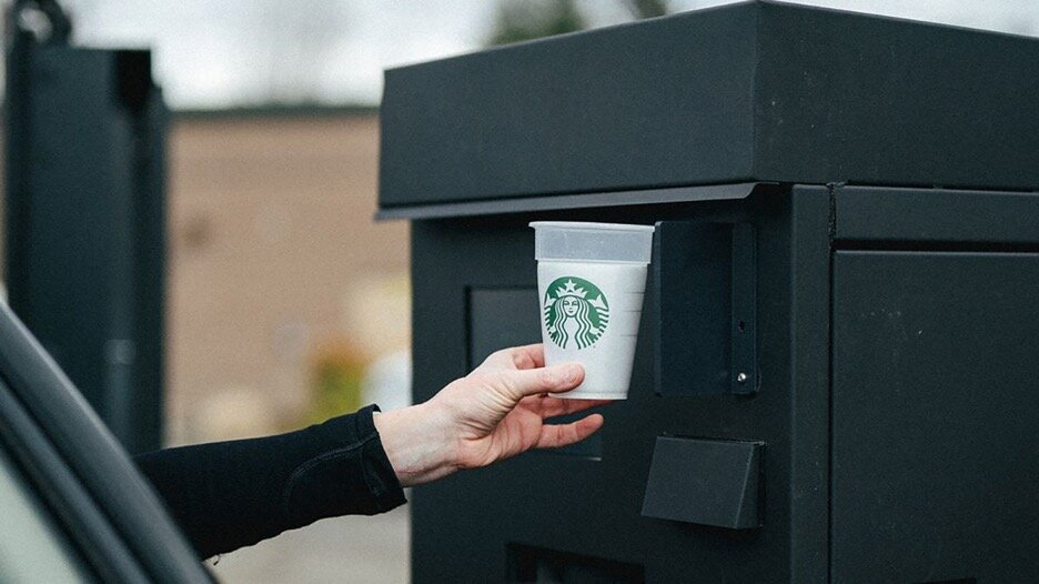 Starbucks Borrow a Cup Program