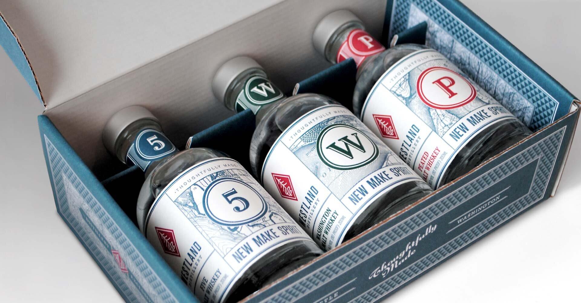 Westland Distillery's Alcohol To-Go Box