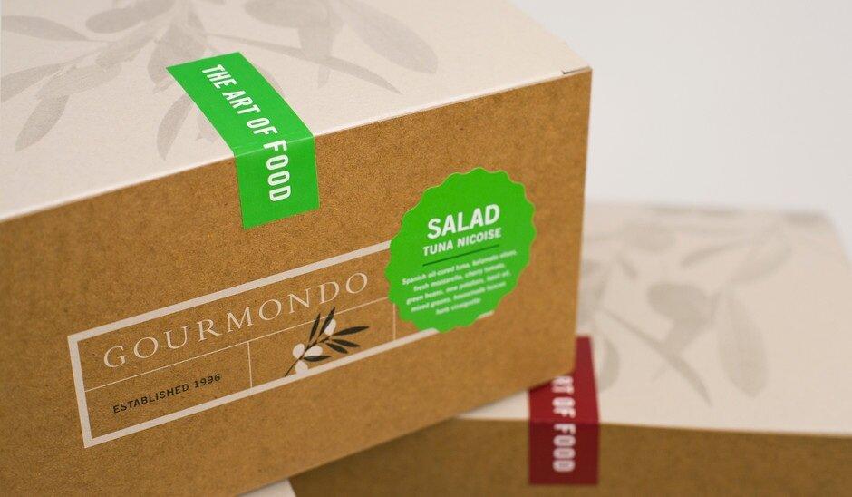 Gourmondo's Tamper-Evident Lunch Boxes