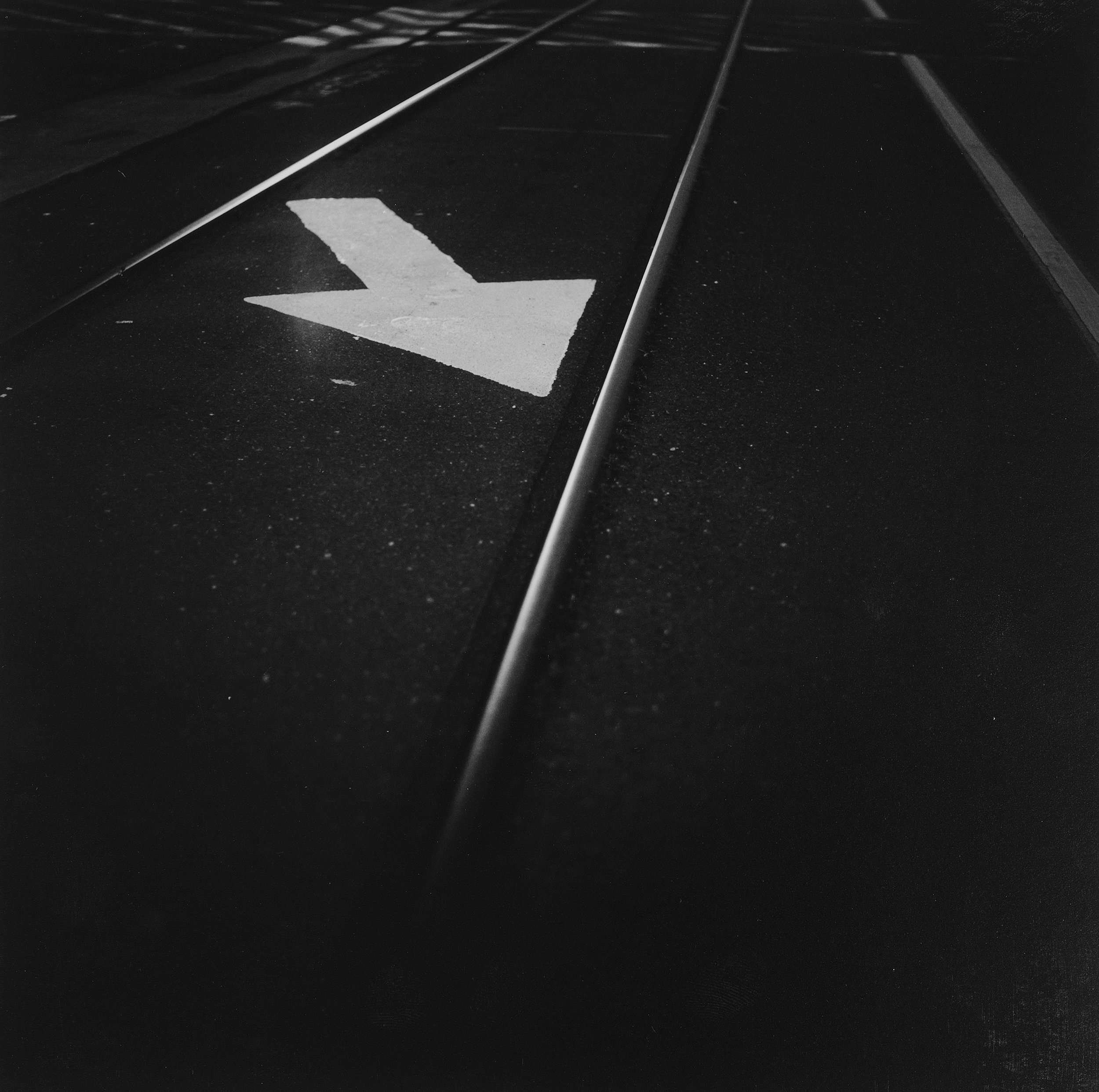 Arrow, Train Tracks, Mare Island
