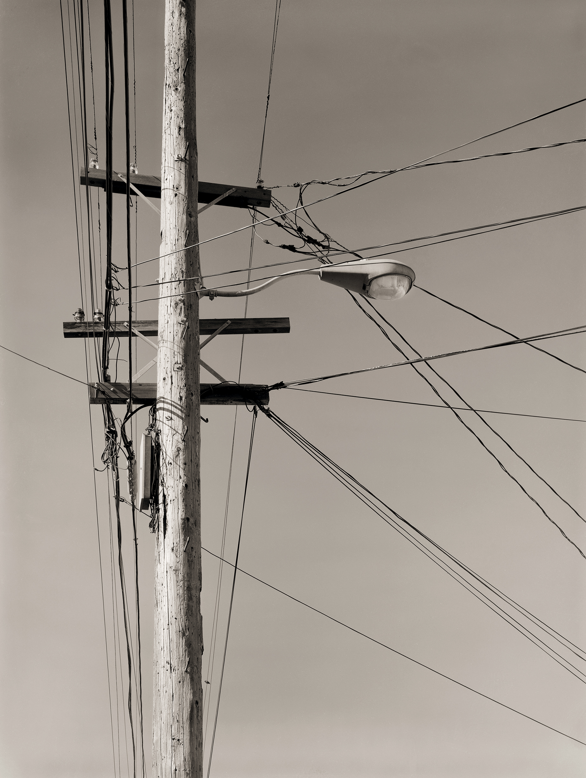 Telephone Pole, Mission District, 1989