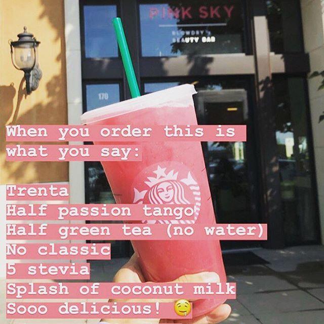 #repost via @michelle_serna story last week 😜 Thanks for the new Starbucks drink chica!