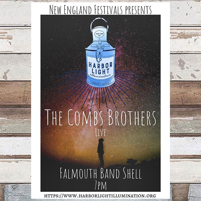 This Saturday night we are beyond excited to be part of the Harbor light illumination concert series! We're live at The Falmouth Band Shell at 7pm. Come down and check out the local artisan market and some live tunes by yours truly! For more information click the link below . https://www.harborlightillumination.org . . #capecod #live #music
