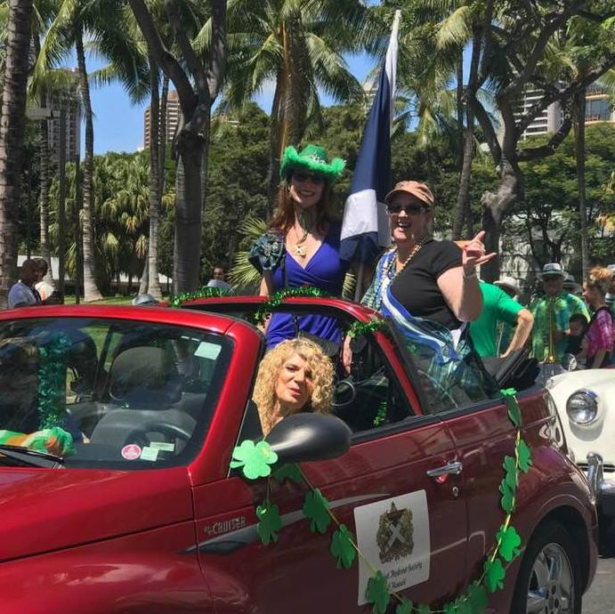 May the road rise to meet you! - Join us for the Waikīkī St. Patrick's Day Parade March 17th! Beginning at Fort DeRussy and finishing at Kapiʻolani Park. Noon-1:30 p.m.; the party is at Kelley O'Neil's, 4:30 p.m. Celebrate St. Patrick's Day at the last parade on the planet each year, then enjoy beer, Irish food, and entertainment. Don't forget the Murphy's Block Party!