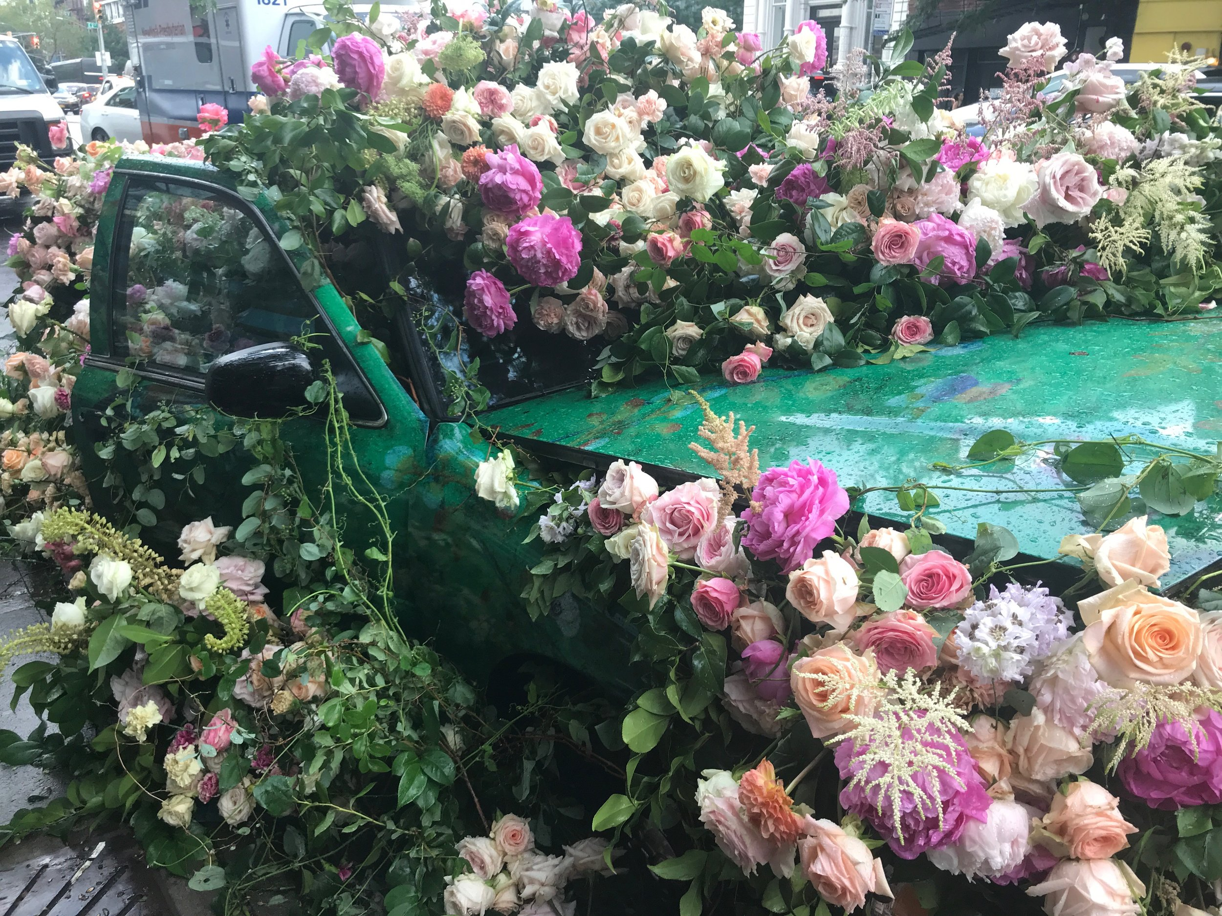 Floral Car Sculpture for HBO Sharp Objects
