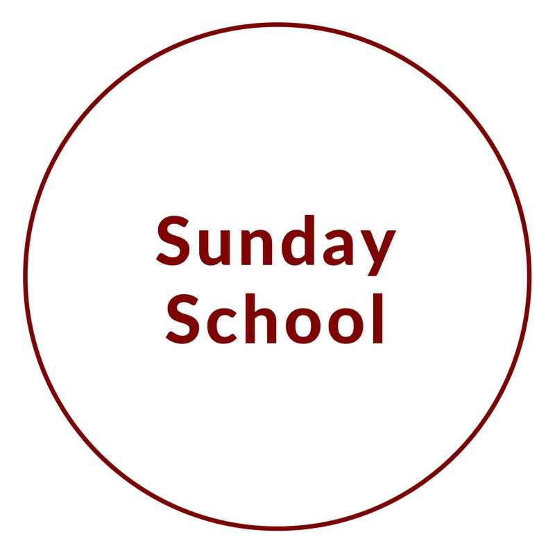 Sunday School is available for all children ages 4-12 every Sunday (during the school year) at 10:40am. Children meet their teacher in the back of the sanctuary during service. Please use the form below to sign up your child for Sunday School.  -