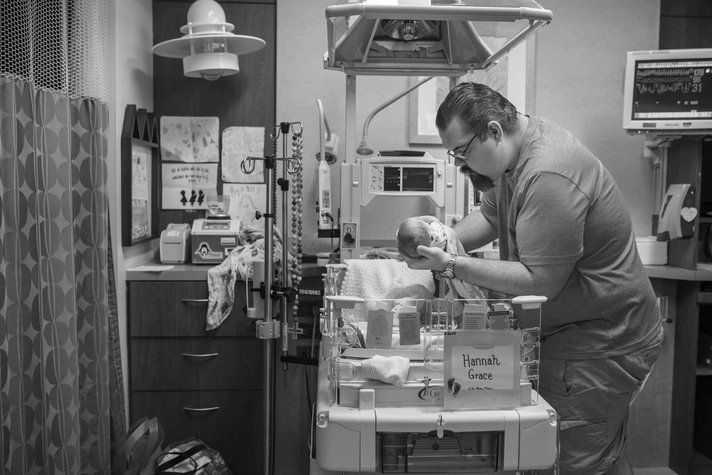 NICU baptist south jacksonville baby photographer
