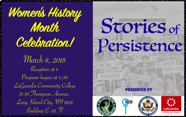Stories of Persistence 3.8.18 Event