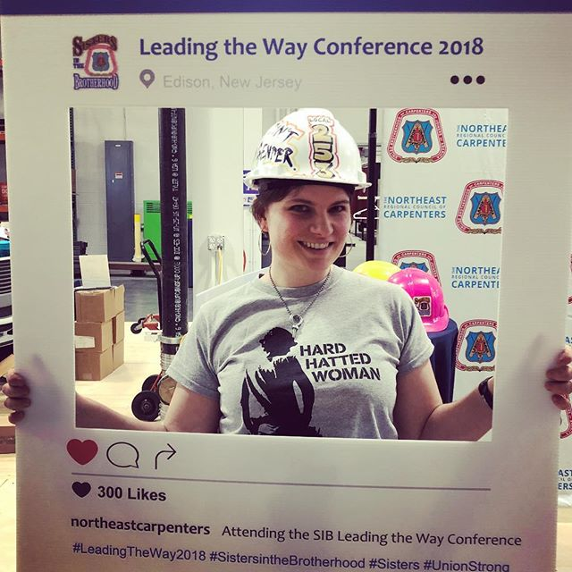 @hardhattedwoman director Lorien Barlow was on the scene at the #leadingtheway2018 @nercc_ubc @ubcsisters conference. The film is completely shot and in the editing room with its eyes on film festivals later this year! We can't wait!!