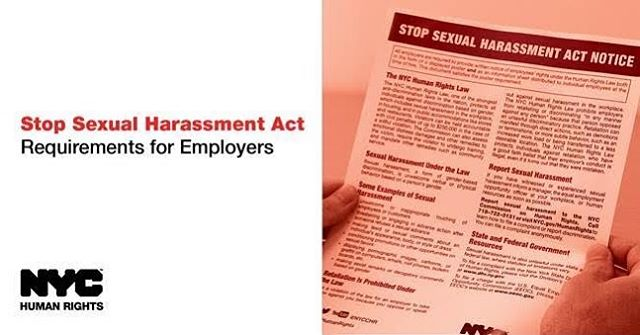 Effective September 6, all employers in #NYC are required to post an anti-sexual harassment notice in English and Spanish in their place of business. Download and post it today: https://on.nyc.gov/2obawap