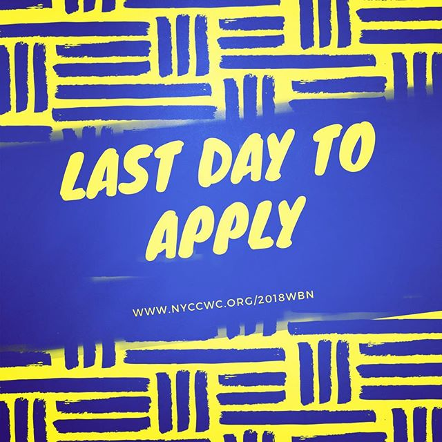 If you haven't shared the application information with a friend, what are you waiting for? TODAY is the last day to apply for conference funding.