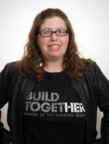 Amanda Kay Johnson, Carpenter     Administrative Officer