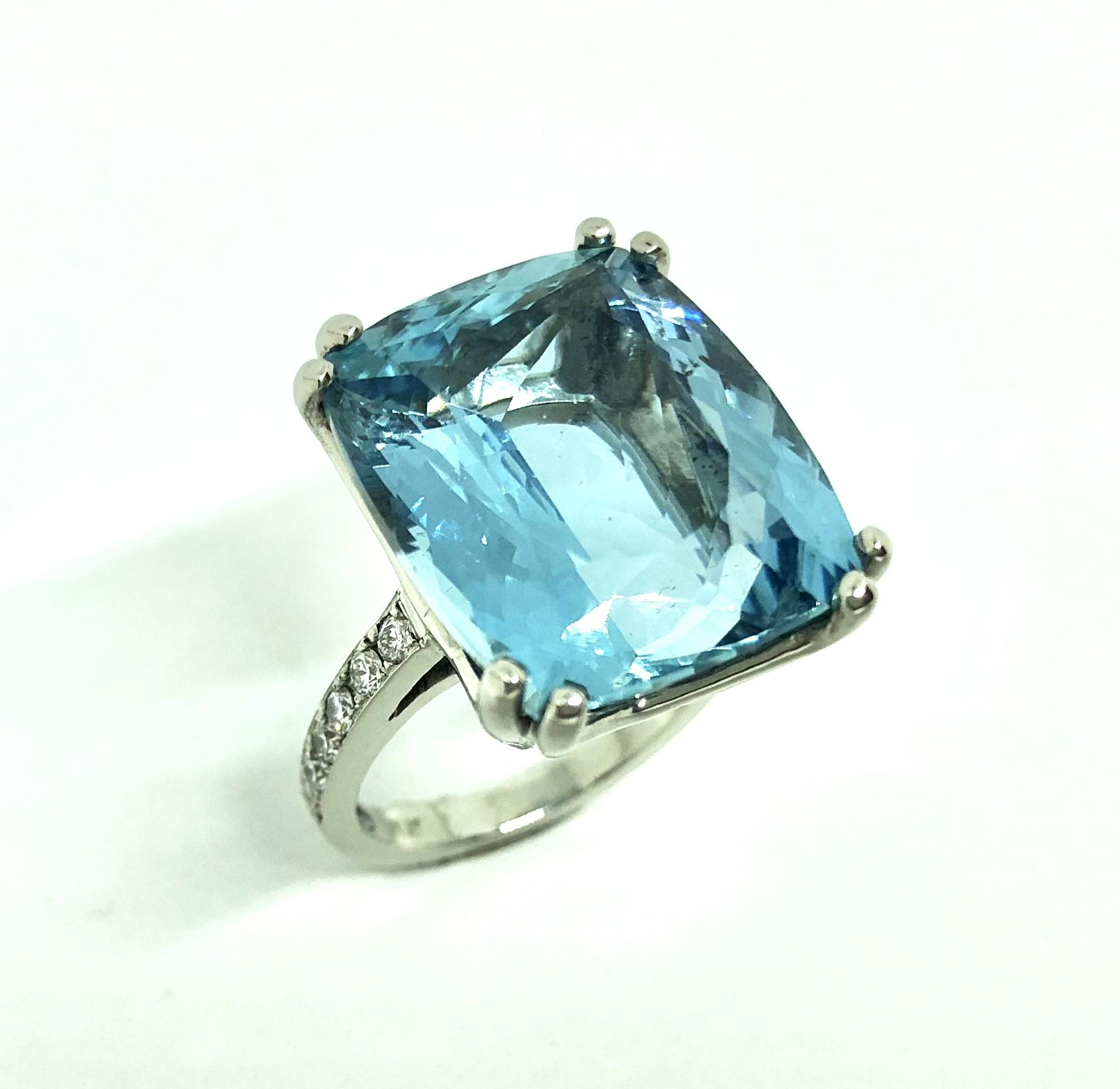 'Devine Aqua' Ring